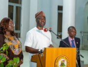 A file photo of Oyo State Governor, Seyi Makinde.
