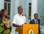 A file photo of Oyo State Governor, Seyi Makinde.