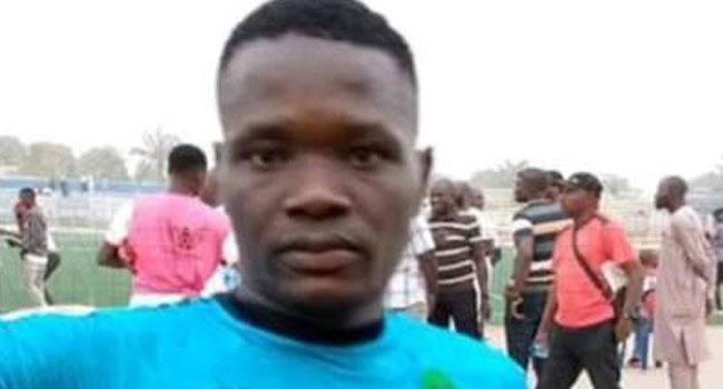 Slumped late Nasarawa United player, Chineme Martins