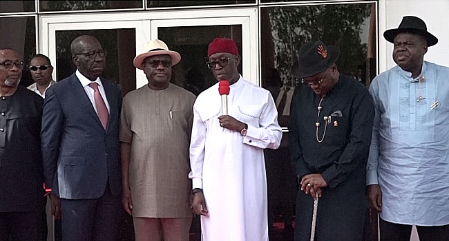 South-South Governors To Establish Regional Security Network