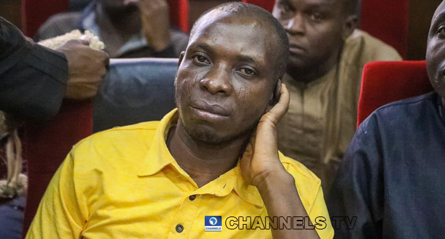 Wadume's Trial Continues In Abuja, Prosecutor Tenders Guns As Evidence