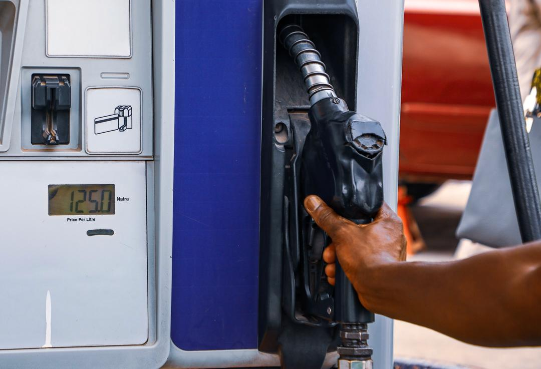 A petroleum station meter in Abuja reads the new N125 price per liter of petrol on Wednesday, March 18th, 2020 after the Federal Government's directive to adjust the pump price of premium motor spirit to N125 per litre. Photo: Sodiq Adelakun / Channels TV