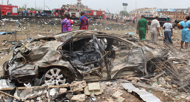 Abule-Ado Explosion: Shocked, They Can't Believe It Wasn't A Bomb