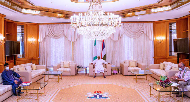 Buhari Receives COVID-19 Updates From Minister Of Health, NCDC Boss – Presidency