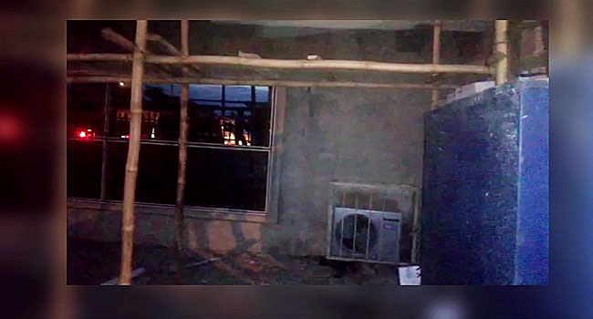 One Killed As Building Collapses In Lagos