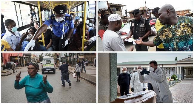 The Week In Photos: Coronavirus Pandemic Disrupts Daily Life