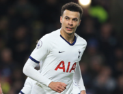 Tottenham Hotspur's English midfielder Dele Alli celebrates after scoring their first goal from the penalty spot during the English Premier League football match between Burnley and Tottenham at Turf Moor in Burnley, north west England on March 7, 2020. Lindsey Parnaby / AFP