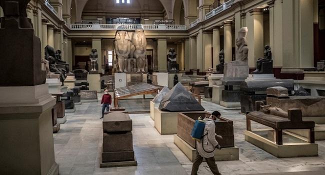 Egypt Disinfects Landmark Museum Over Coronavirus