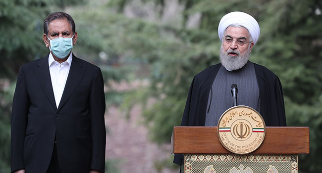 Iran COVID-19 Death Toll Tops 2,500