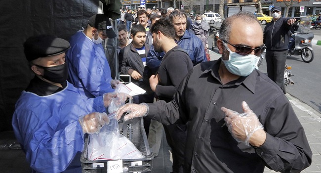 COVID-19: Europe Sends Medical Gear To Iran In First Sanction-Bypass Deal