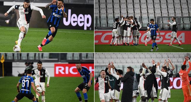 Juventus Beat Inter To Go Top After Coronavirus Chaos