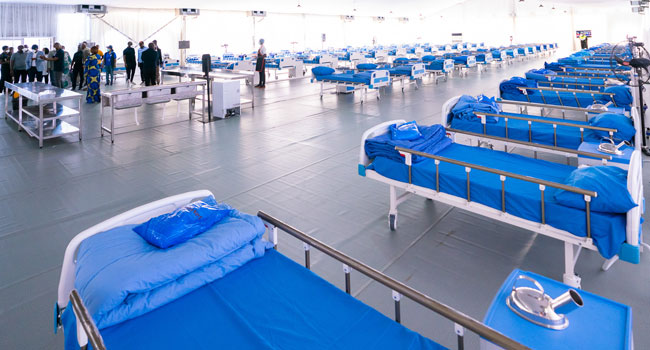 [PHOTOS] COVID-19: Lagos Gets New 110-Bed Isolation Centre