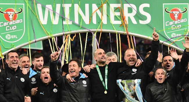 Man City Retain League Cup After Aston Villa Win