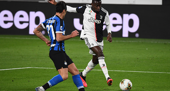 Juventus' Blaise Matuidi tests positive for coronavirus