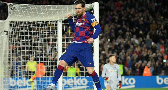 Controversial Messi Penalty Gives Barcelona Win Against Real Sociedad
