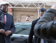 Nigeria's Minister of State for Petroleum Resources Timipre Sylva arrives for the 178th Organization of Petroleum Exporting Countries (OPEC) meeting in Vienna, Austria, on March 5, 2020. ALEX HALADA / AFP