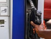 A petrol station metre in Abuja reads N125 on Thursday, March 19, 2020. Photo: Sodiq Adelakun
