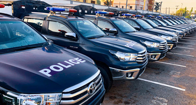 PHOTO USED TO ILLUSTRATE STORY: An image of police patrol vehicles.