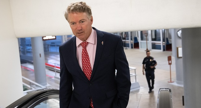 US Senator Rand Paul Tests Positive For Coronavirus