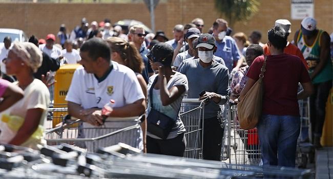 South Africa's Coronavirus Cases Surge Past 500
