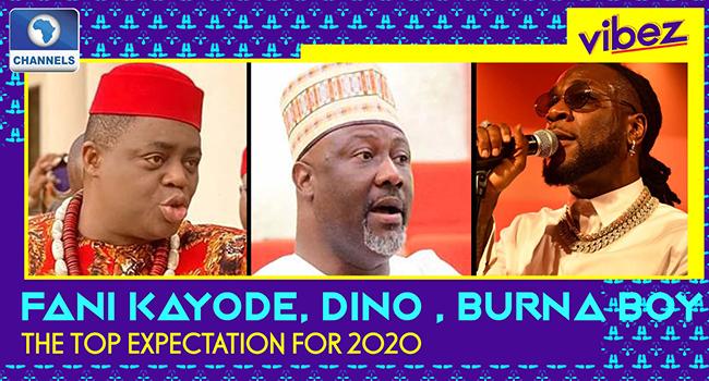 Vibez: Fani Kayode, Dino Set For Nollywood Debut, Burna Boy Drops Odogwu And More