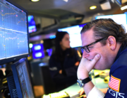 Traders work during the opening bell at the New York Stock Exchange (NYSE) on March 5, 2020 at Wall Street in New York City. Johannes EISELE / AFP