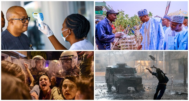 A combination of the best photos of the week ending March 14, 2020.