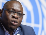 World Health Organization (WHO) Assistant Director-General Ibrahima-Soce Fall attends a press conference on the WHO Ebola operations in the Democratic Republic of the Congo on March 6, 2020 in Geneva. Fabrice COFFRINI / AFP