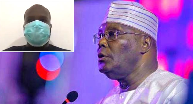 'I Was Nervous, Anxious,' Atiku's Son Shares Experience Battling COVID-19