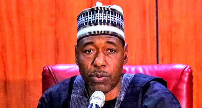 Zulum Escapes Another Attack On Baga-Monguno Road