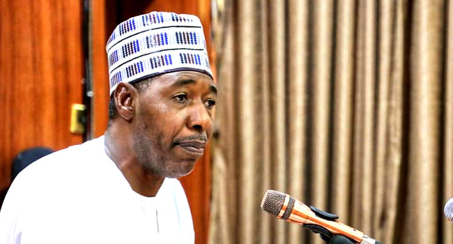 Zulum Asks FG To Engage Mercenaries, Suggests Other Ways To Clear Insurgents