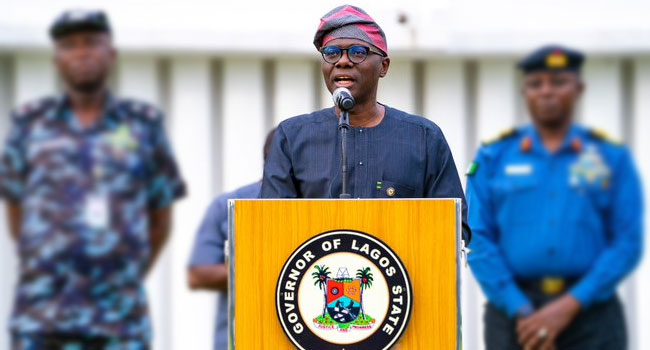 COVID-19: Sanwo-Olu Suspends Okada Operations, Announces New Measures To Ease Lockdown