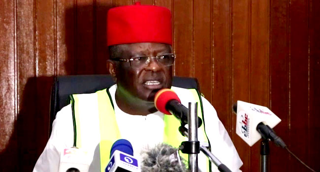 Umahi Condemns Attack On Police Stations, Imposes 24-Hours Curfew In Ebonyi