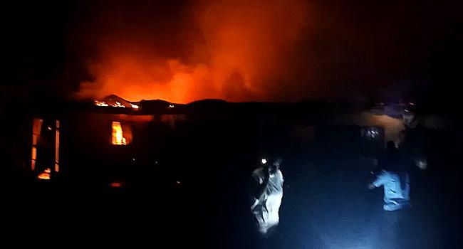 Fire Guts Several Shops In Kaduna