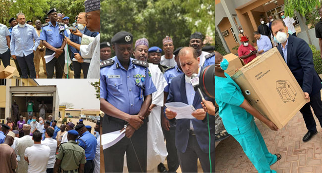 COVID-19: Lebanese Community Extends Donations To Security Agencies, Health Facilities In Kano