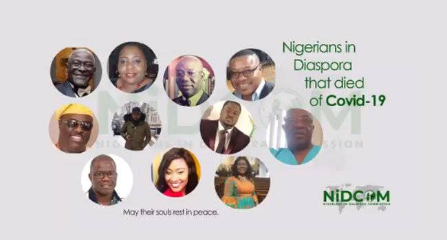Diaspora Commission Reveals 13 Nigerians Who Died Of COVID-19 In UK, US