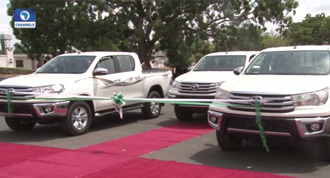 Nasarawa Security: Governor Sule Donates Vehicles, Other Items To Army