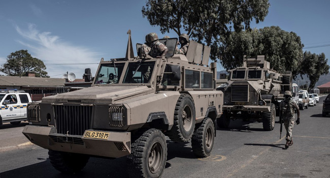 South Africa To Deploy More Troops For COVID-19 Lockdown