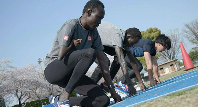 South Sudan Athletes Stranded In Japan Keep Olympic Dreams Alive