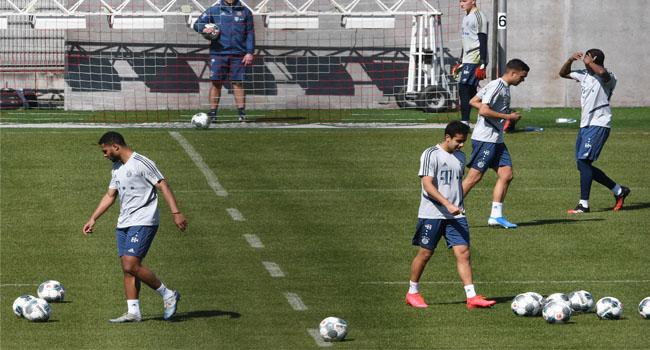 COVID-19: Bayern Munich Restart Training, Bar Hugs, Challenges