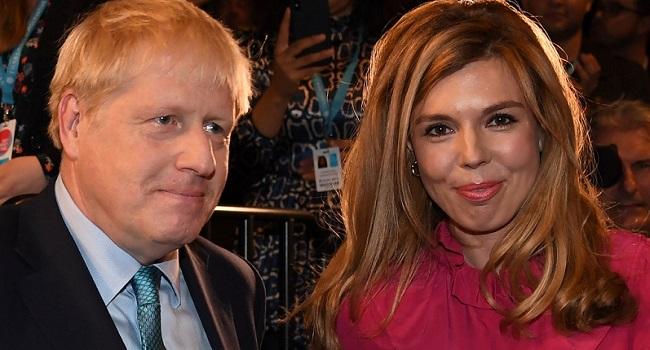 British PM Boris Johnson, Partner Announce Birth Of Baby Boy