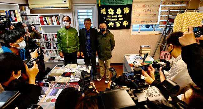 Hong Kong Publisher Defies China, Re-Opens Bookstore In Taiwan