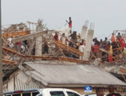 An eight-story building collapsed in Imo state on April 30, 2020.