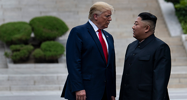 Trump Appears To Confirm That North Korea's Kim Jong-Un Is Alive