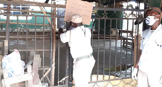 Lagos Govt Shuts Mosque For Violating Ban On Public Gathering