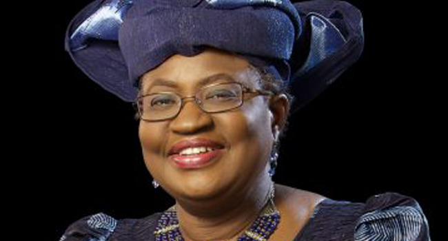 A file photo of former Nigerian finance minister, Ngozi Okonjo-Iweala