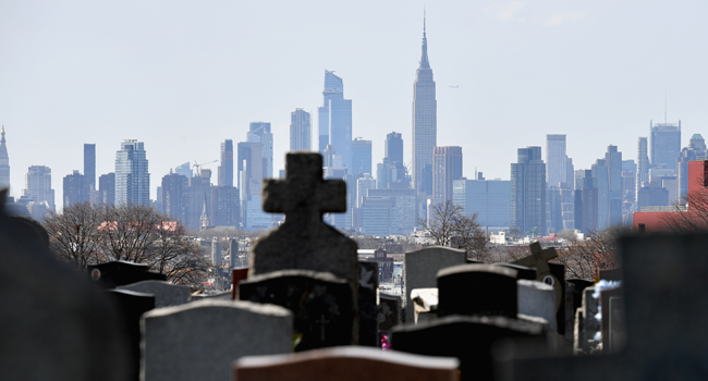 New York Buries COVID-19 Victims In Mass Graves