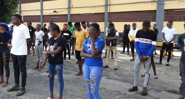 COVID-19:  65 Persons Arrested In Lagos For Violating Lockdown Order