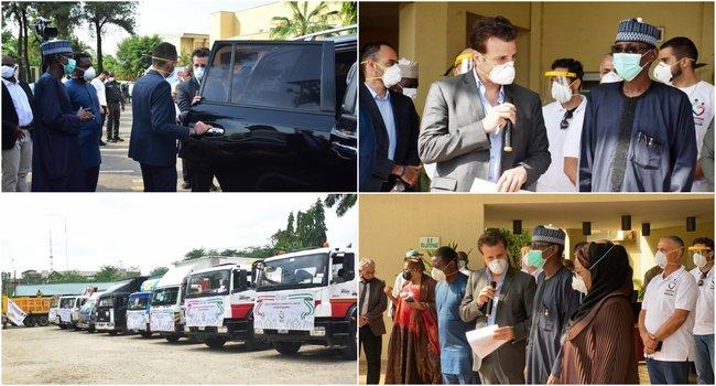 Coronavirus: Lebanese Community Donates Food, Other Items To FCT