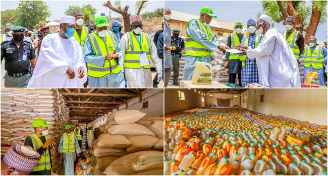 COVID-19: Governor Ganduje Flags-Off Distribution Of Palliatives